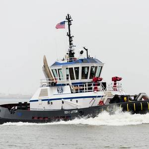 Gulf Island Delivers Z-Tech Tugs