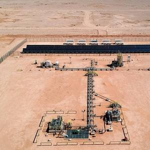 Aramco Uses Renewables in Gas Wells