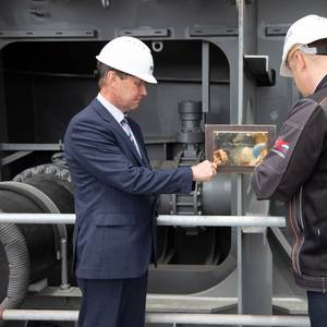 Keel Laid for First Russian-built Arc7 LNG Carrier