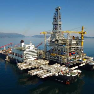 Pioneering Spirit Shifts to the North Sea
