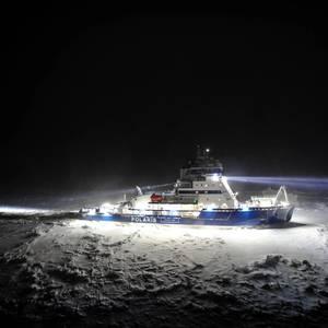 Polaris Commences Icebreaking in Bothnian Bay