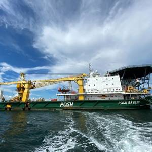 POSH Offshore Vessel for Cargo Ship Crews Calling in Singapore
