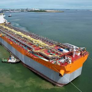 VIDEO: Prosperity FPSO Hull Arrives in Singapore