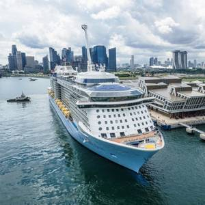 Relieved Passengers Leave Singapore Cruise After COVID-19 Scare