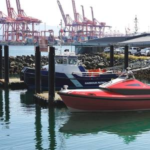RAL Intros Rapid Fire-Fighting Vessel