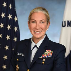 Rear Adm. Bert Makes History with New USCG Role
