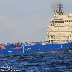 Rem Offshore's Platform Supply Vessel Hired for Offshore Wind Work