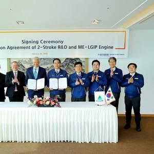 MAN, Hyundai to Develop LPG Dual-fuel Engines
