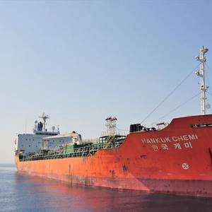 South Korean-flagged Tanker Seized by Iran