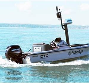 Robosys Testing Advanced Navigation Systems on the Solent