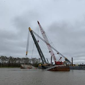 Vessels Queue Grows as Salvage Continues on the Intracoastal Waterway