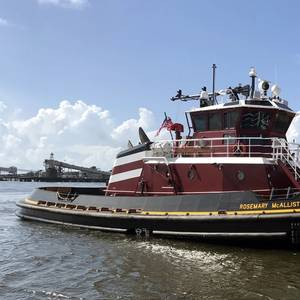 New Tug Joins McAllister Towing Fleet