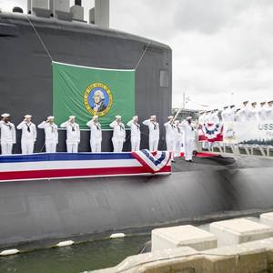 USS Washington Commissioned
