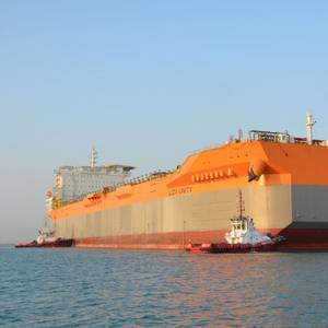 VIDEO: SBM Offshore's Liza Unity FPSO Moves to Dry Dock