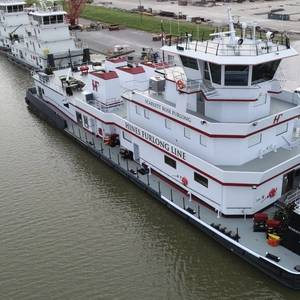C&C Delivers 6,600hp Towboat for Hines Furlong Line