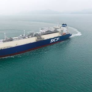 Sovcomflot Takes Delivery of New LNG Carrier