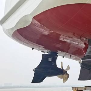 Chinese Icebreaker Beacon Ship Sports Schottel EcoPellers