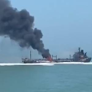 VIDEO: Cargo Ship and Tanker Collide off Shanghai - 14 People Missing