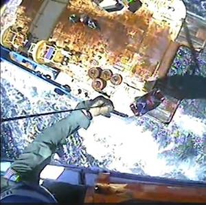 VIDEO: U.S. Coast Guard Medevacs Offshore Vessel Worker