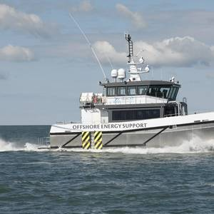 New Vessel Goes to Work for Seacat Services in the UK