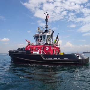 Sanmar Delivers Second of Sister Tugs to Seaspan