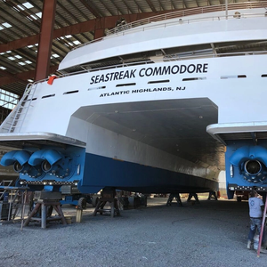 Humphree Interceptors for  Seastreak's Newest Ferry