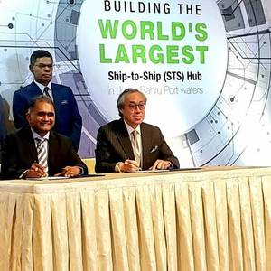 World's Largest STS Transfer Hub Comes in Malaysia