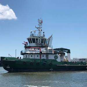 Gulf Island Shipyards Delivers Icebreaking Tug to SLSDC