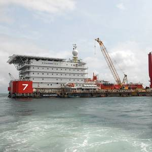 NigerStar 7 Adds Pipelay Vessel