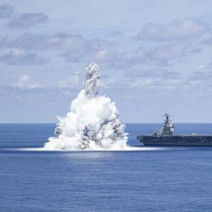 Video: USS Gerald R. Ford Completes Shock Trials
