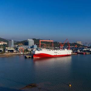 LNG Power for VW Car Carriers