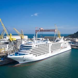 Fincantieri Delivers New Cruise Ship Silver Moon