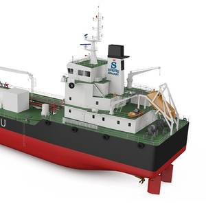 Sinanju Orders Singapore's 1st Dual-Fuel Bunker Tanker