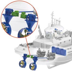 Schottel Hybrid Drive for 'World's First' LNG Hybrid Tug