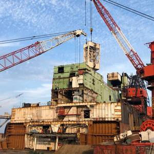 Ship Recycle Prices Hurtle past $600/LDT