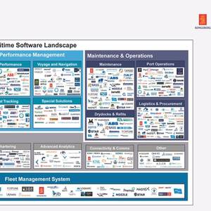 Mapping the Maritime Software Landscape in 2020