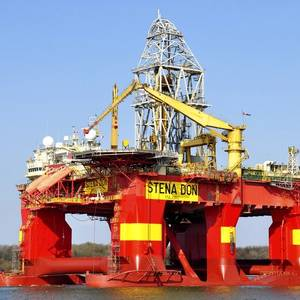 Stena Drilling Rig Gets an Engine Overhaul