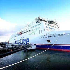 New RoPax Ship Stena Embla Arrives in Belfast