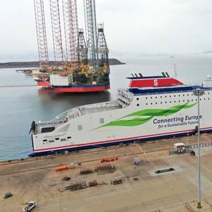 Stena Line Takes Delivery of New Ferry Stena Embla
