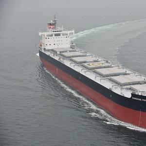 Coal Carrier Sunshine Pride Delivered