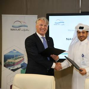 Nakilat, Höegh LNG Ink MoU on FSRU project