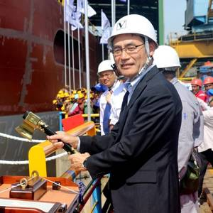 Colombo Delivers Cable-Laying Vessel
