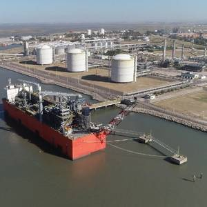 Exmar's Tango FLNG Arrives in Argentina