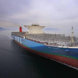 Mega 20,150 TEU Containership Named MOL Triumph