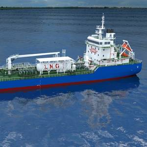 ExxonMobil Charters Singapore's First LNG-fueled Bunker Barge