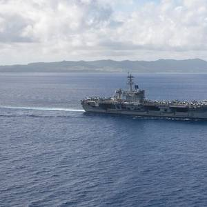 USS Theodore Roosevelt Returns to Sea Following COVID-19 Outbreak