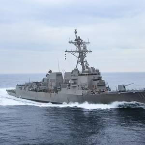 Future USS Delbert D. Black Completes Acceptance Trials