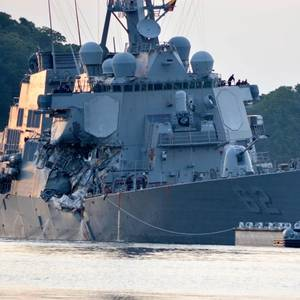 An Hour Passed before Japan Authorities were Notified of Fitzgerald Collision