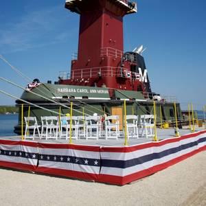 Bay Shipbuilding Delivers ATB to Moran