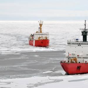 Shrinking Arctic Sea Ice Raises Security Concerns